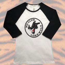 T-Shirt No Club Lone Wolf -...