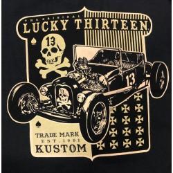 T-shirt Lucky 13 - Skull -...