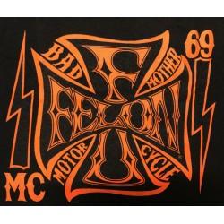 T-shirt Felon - MC 69
