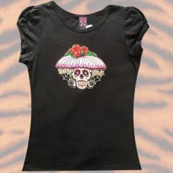 T-shirt Lucky 13 - Skull...