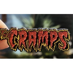 The Cramps pin glitter