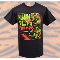 T-Shirt The Cramps - Human Fly