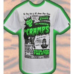 T-Shirt The Cramps - Gig...