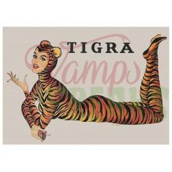 Tigra Girl poster - tiger